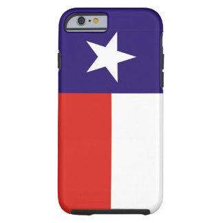 bandera América unida caso del estado de Tejas los Funda De iPhone 6 Tough