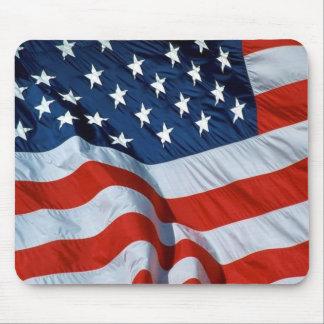 Bandera americana alfombrilla de ratón