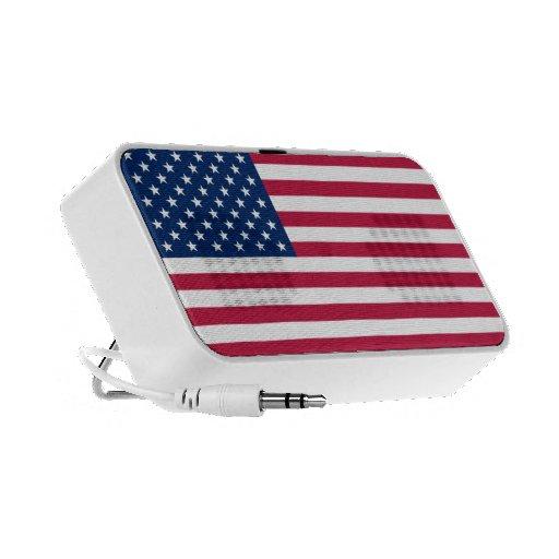 Bandera americana mini altavoces