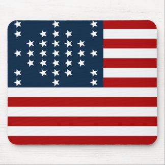 Bandera americana de la guerra civil de Sumter del Alfombrilla De Ratón