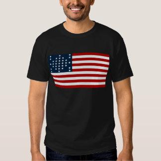 Bandera americana de la guerra civil de Sumter del Camisetas