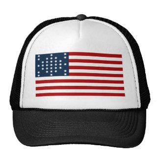 Bandera americana de la guerra civil de Sumter del Gorros Bordados