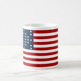 Bandera americana de la guerra civil de Sumter del Taza De Café