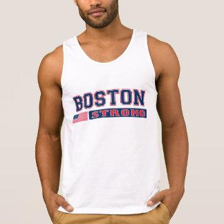 Bandera americana FUERTE de BOSTON Camiseta De Tirantes