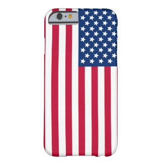 Bandera americana funda para iPhone 6 barely there