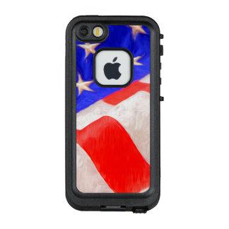 Bandera americana LifeProof® FRĒ® para el iPhone