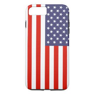 Bandera americana patriótica personalizable funda para iPhone 8 plus/7 plus