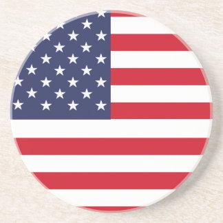 Bandera americana posavasos