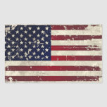 Bandera americana rectangular altavoz