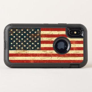 Bandera americana sucia los E.E.U.U.