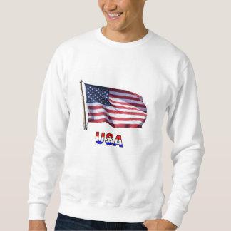 Bandera americana sudadera