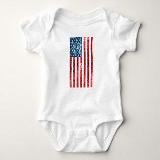 bandera americana vertical body para bebé