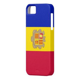 Bandera Andorra - Funda / Carcasa iPhone 5/5S iPhone 5 Case-Mate Protectores