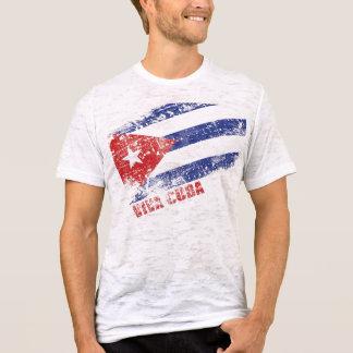 Bandera apenada Cuba de Viva Camiseta