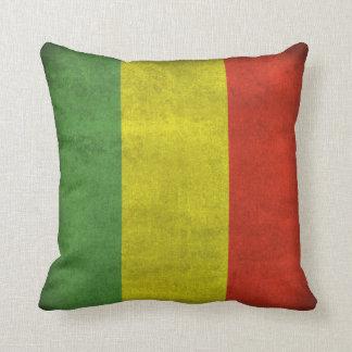 Bandera apenada de Rasta Cojin