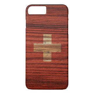 Bandera apenada de Suiza Funda iPhone 7 Plus