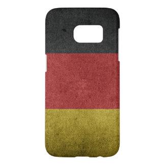 Bandera apenada vintage de Alemania Funda Samsung Galaxy S7