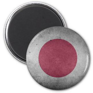 Bandera apenada vintage de Japón Imanes