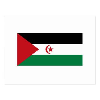 Bandera árabe de la república Democratic de Postal