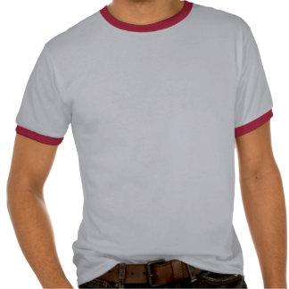 Bandera Argentina-Americana del escudo Camiseta