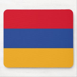 Bandera armenia alfombrilla de ratón