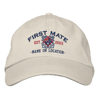 Bandera australiana náutica personalizada del gorra de béisbol