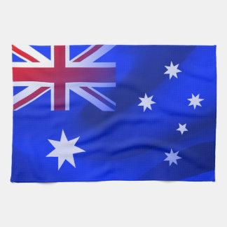 Bandera australiana paño de cocina