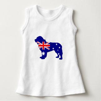 Bandera australiana - perro de Terranova Vestido