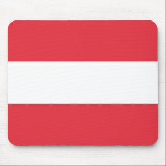Bandera austríaca alfombrilla de ratón