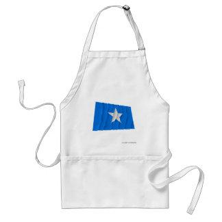 Bandera azul de Bonnie/al oeste bandera de la repú Delantal