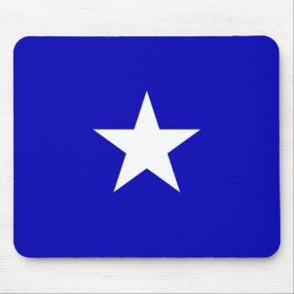 Bandera azul de Bonnie Alfombrilla De Ratón