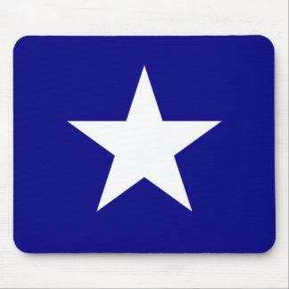 Bandera azul de Bonnie con el cojín de ratón Alfombrilla De Raton