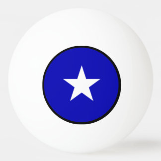 Bandera azul de Bonnie Pelota De Ping Pong