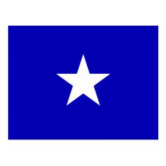 Bandera azul de Bonnie Postal