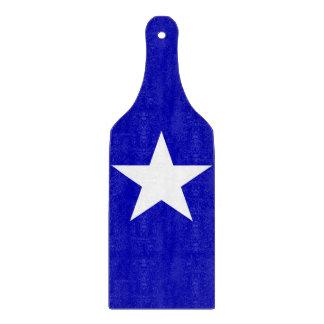 Bandera azul de Bonnie Tablas Para Cortar