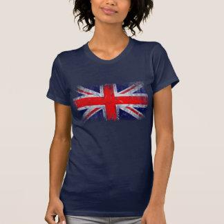 Bandera azul y roja de Inglaterra Camiseta