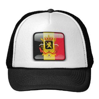 Bandera brillante belga gorro