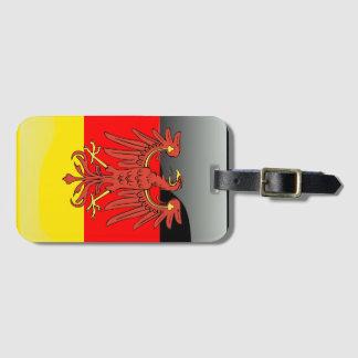 Bandera brillante de Alemania Etiquetas Para Maletas