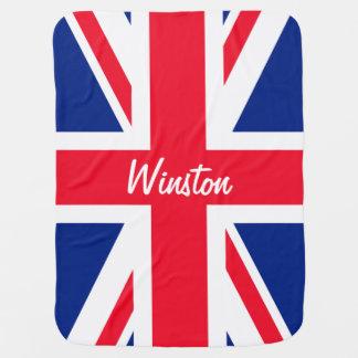 Bandera británica BRITÁNICA de Union Jack Mantita Para Bebé