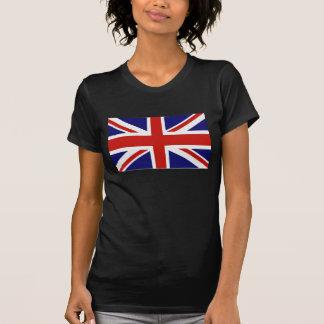 Bandera británica camisetas