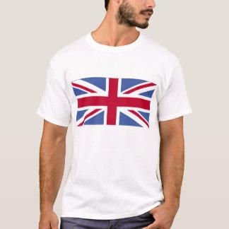 Bandera británica camiseta
