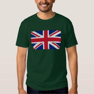 Bandera BRITÁNICA de Británicos GB Camisetas