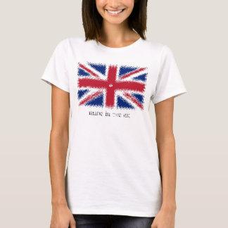 Bandera británica, hecha en el Reino Unido - Camiseta