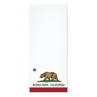 Bandera Buena Park del estado de California Comunicado