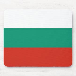 Bandera búlgara alfombrilla de ratón