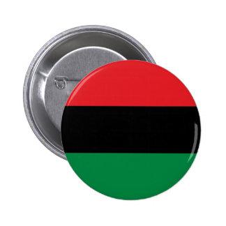 Bandera Cacerola-Africana negra y verde roja de Chapa Redonda De 5 Cm