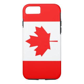Bandera canadiense de la hoja de arce roja IPhone Funda iPhone 7