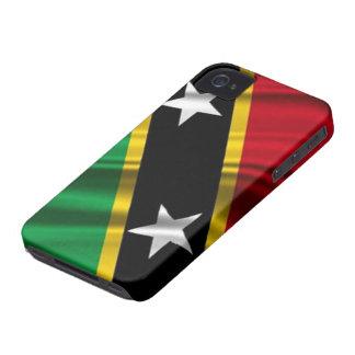 Bandera caso del iPhone 4/4S del santo San iPhone 4 Fundas
