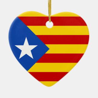 Bandera catalana de la independencia de ornato