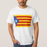 Bandera catalana de la independencia de camisetas